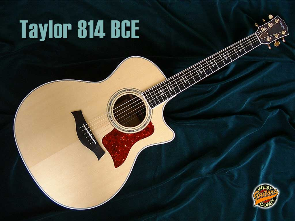 Taylor Guitar Wallpaper 1024x768