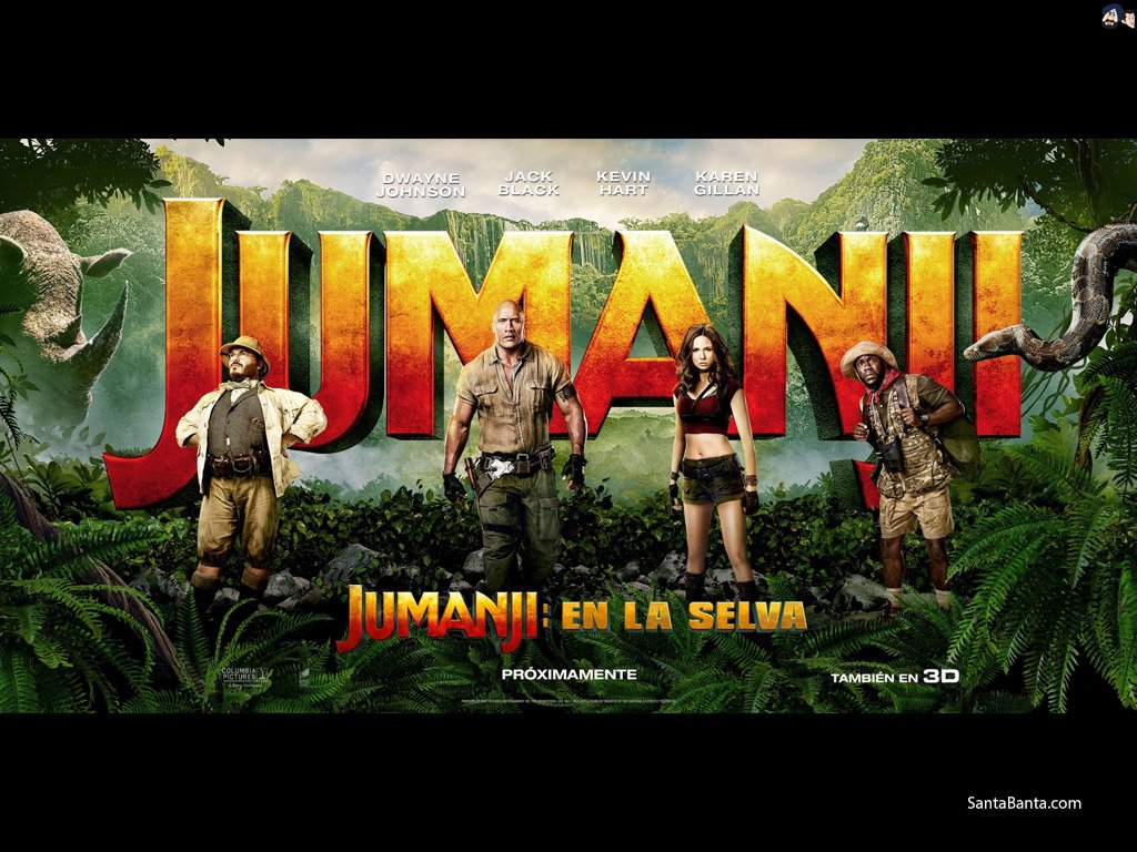 Jumanji Welcome to the Jungle Wallpaper 13   1024 X 768 stmednet 1024x768