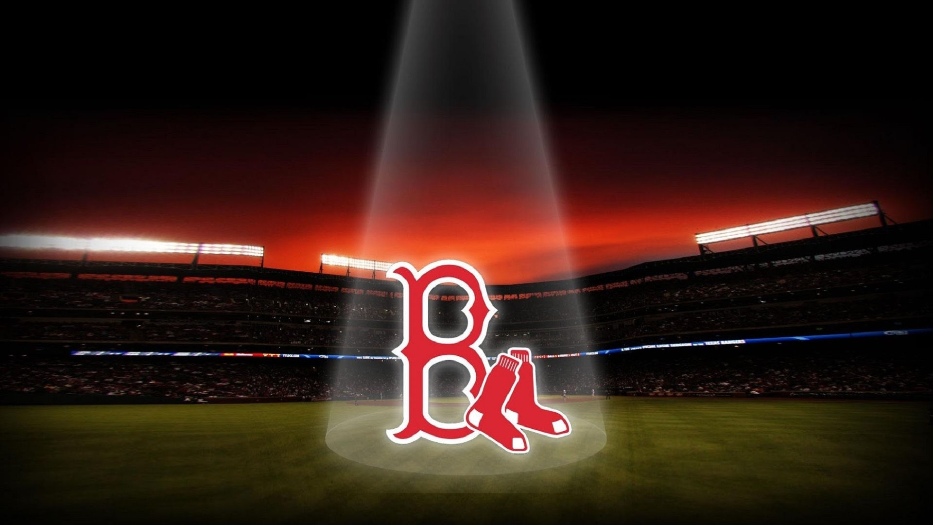 Boston Red Sox Logo Desktop Backgrounds Page 2 of 3 wallpaperwiki 1920x1080