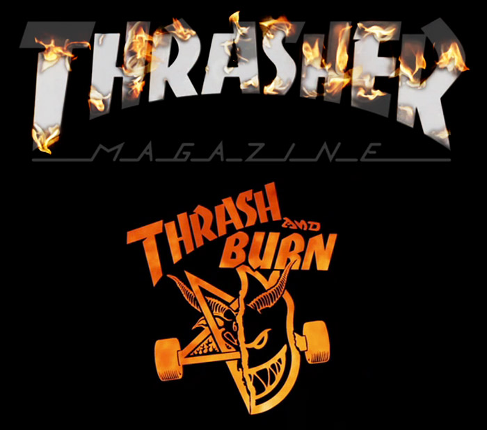 Thrasher Logo Wallpaper Thrasher magazine video series 700x619