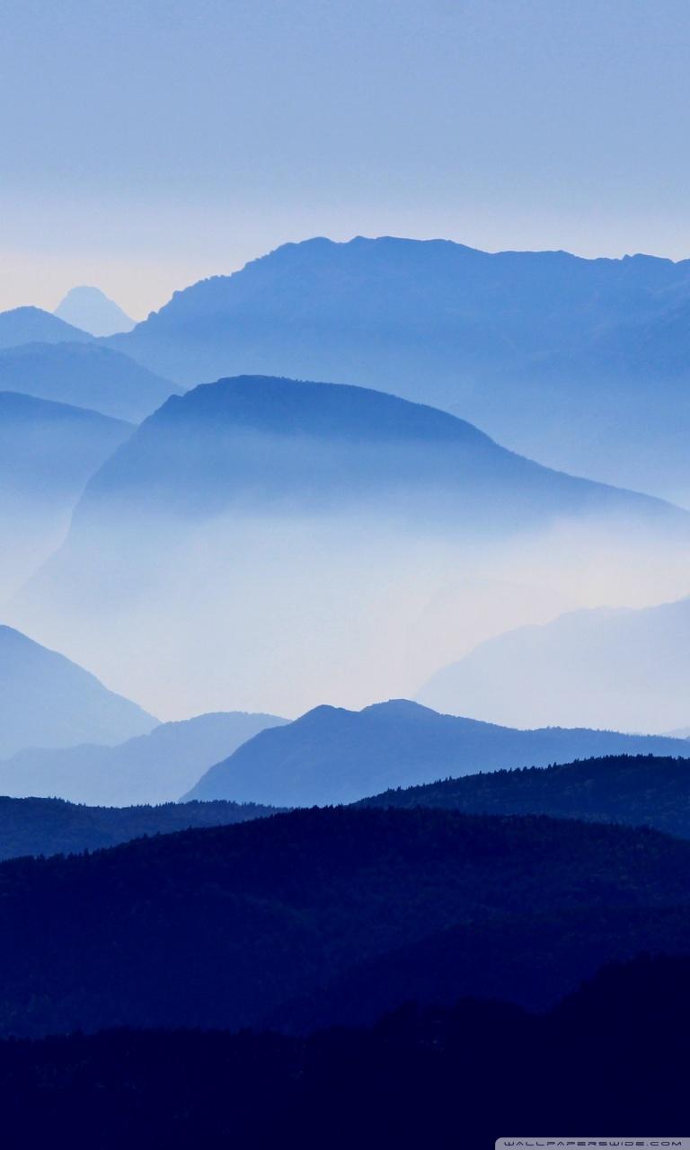 Free Download Blue Mountains Mist 4k Hd Desktop Wallpaper For Wide