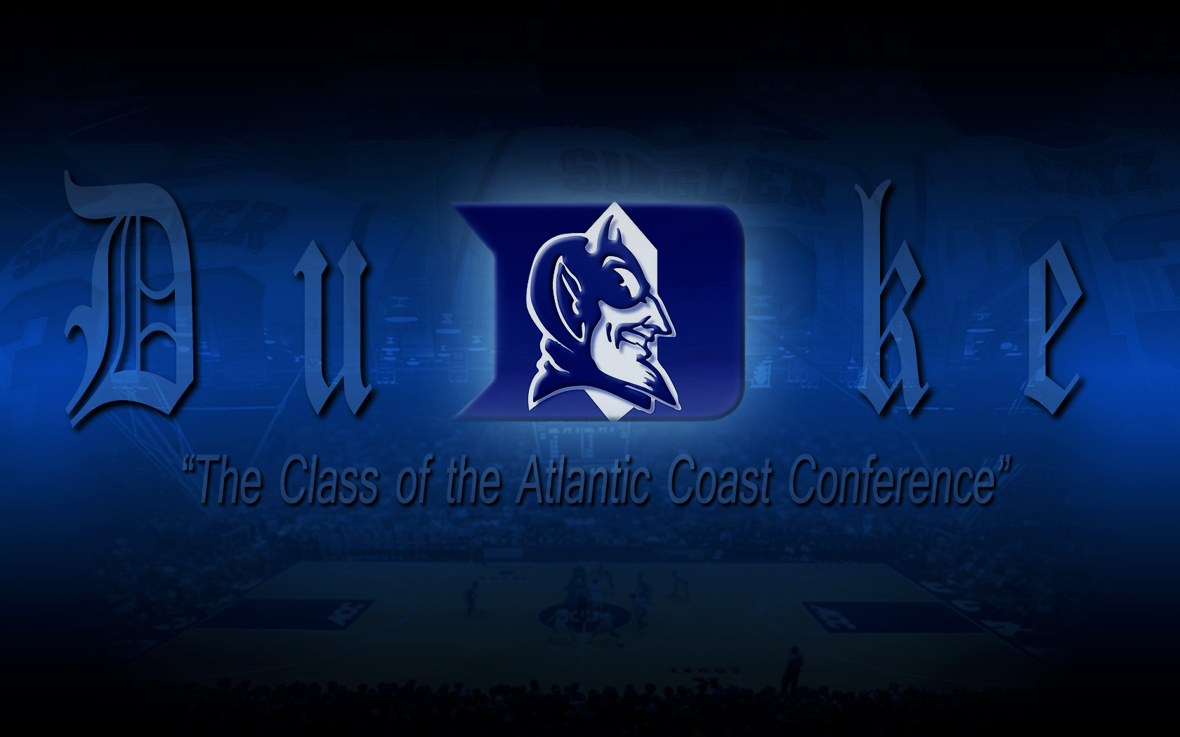 Duke Blue Devils Basketball Desktop Wallpapers Sports Geekery 1680x1050