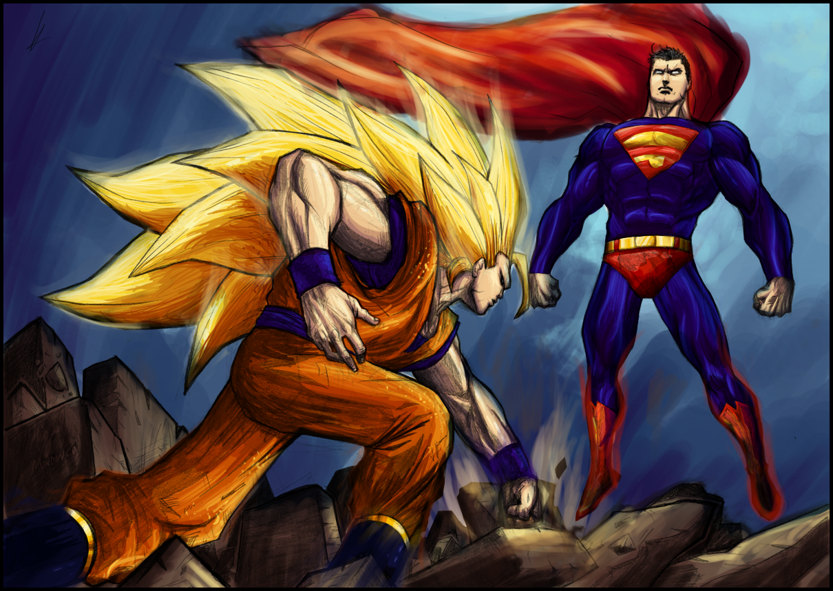 Superman Goku Wallpaper 1210x859 Superman Goku 1210x859