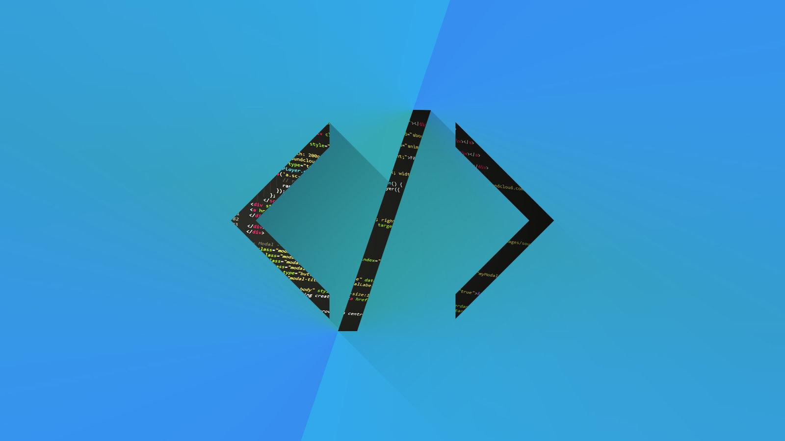 Web Developer Wallpaper Code by PlusJack 1600x900