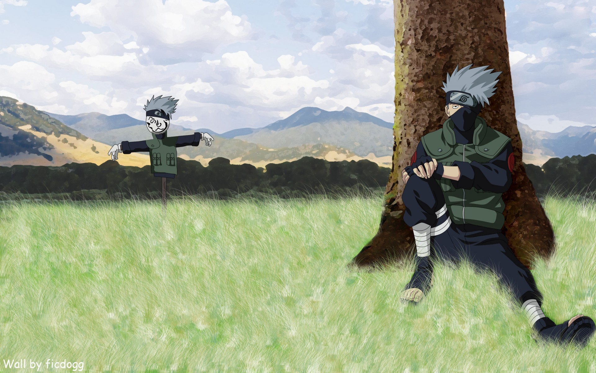 Naruto Kakashi HD Desktop Wallpaper HD Desktop Wallpaper 1920x1200