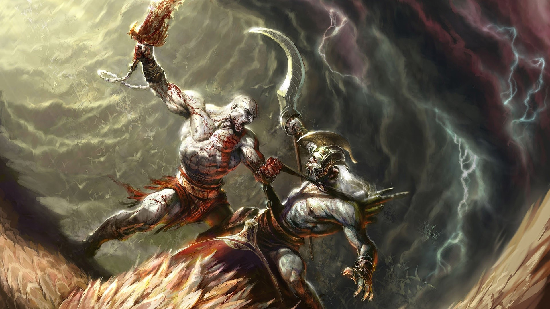 48 God Of War Wallpaper Kratos On Wallpapersafari