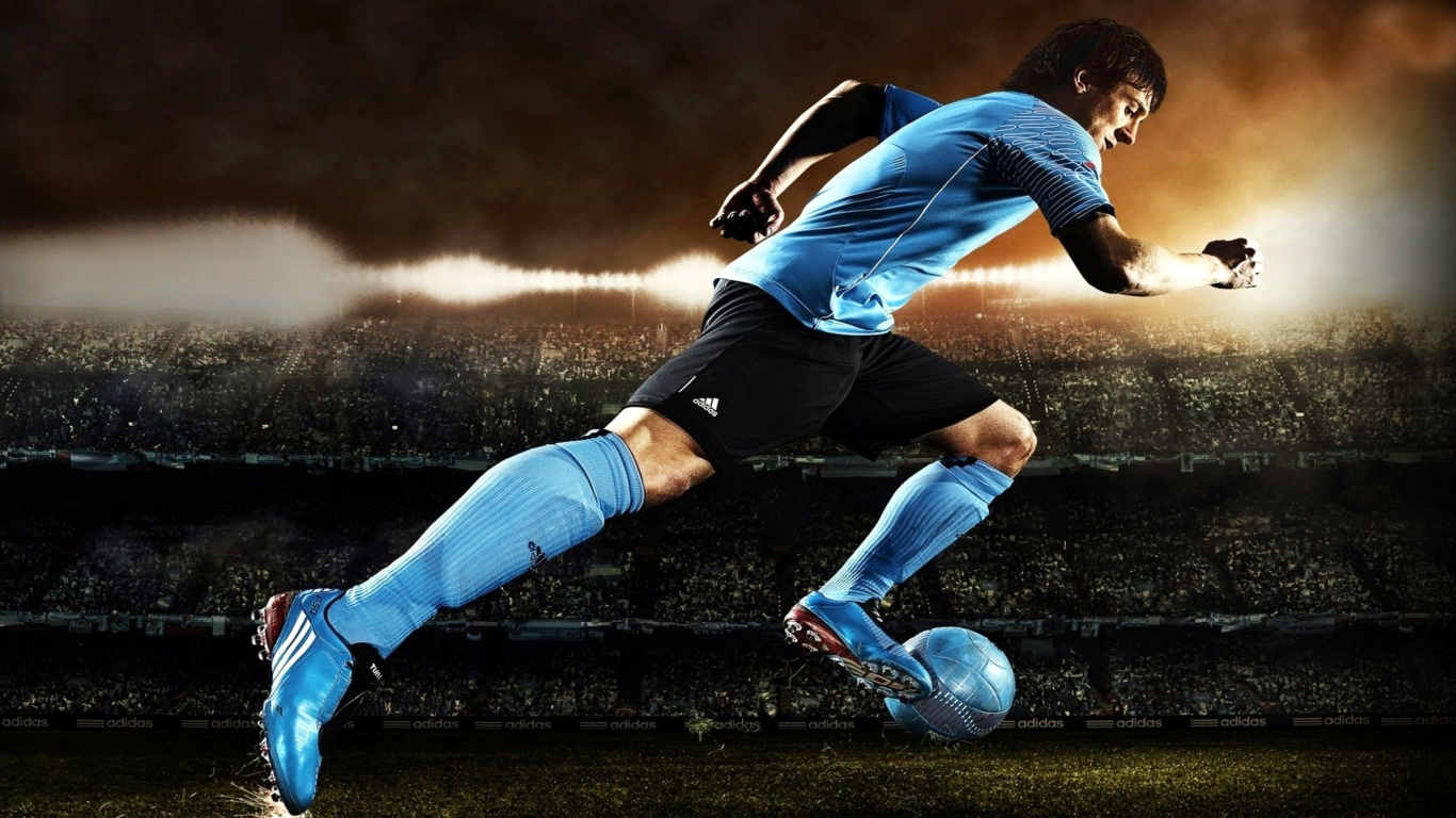 Description Soccer Player Wallpaper is a hi res Wallpaper for pc 1366x768