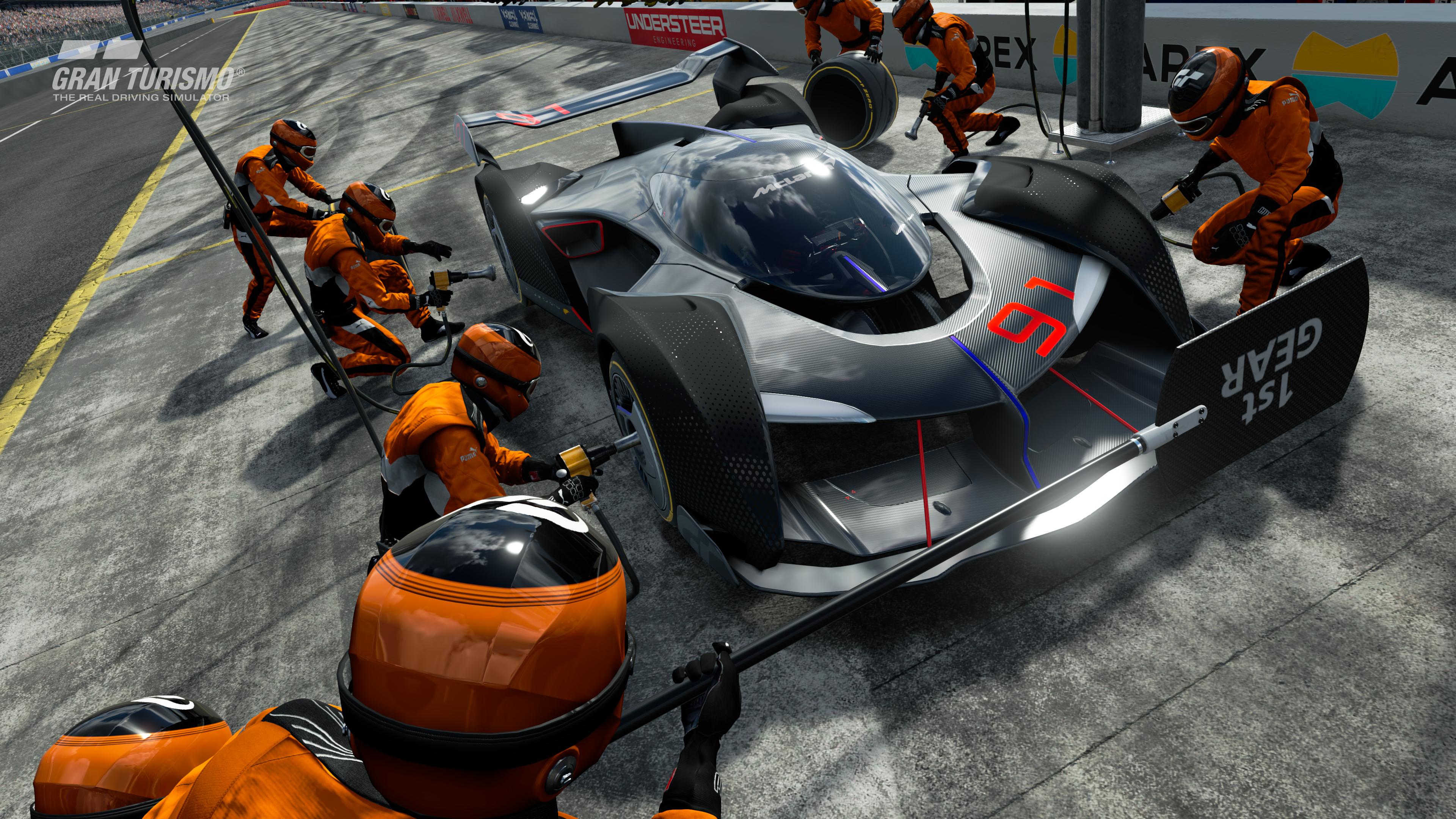 McLaren Ultimate Vision GT for PS4 Gran Turismo Sport 6 3840x2160