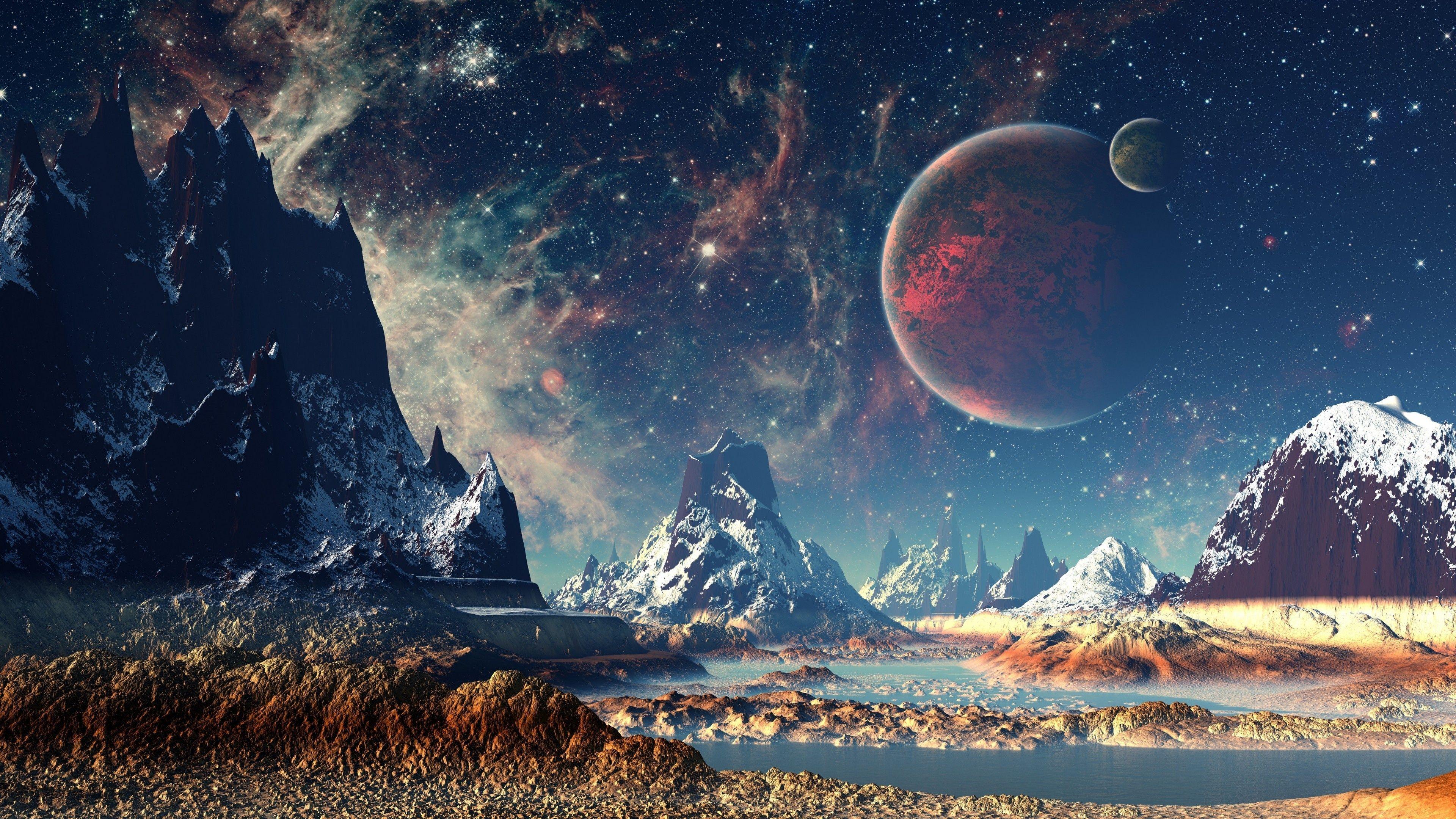 Planets Desktop Wallpapers   Top Planets Desktop Backgrounds 3840x2160