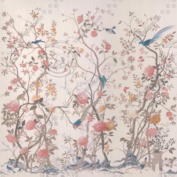 Texture jpg Chinese silk wallpaper 600x600