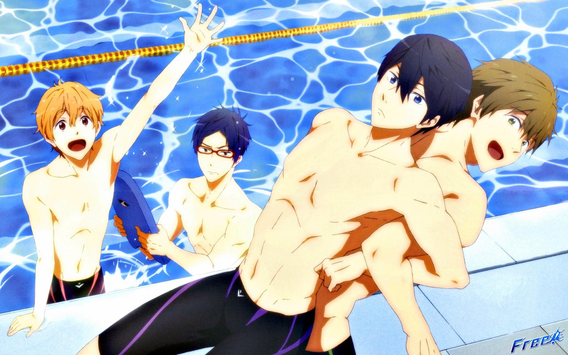 Anime Iwatobi Swim Club 01b HD Wallpaper 1920x1200