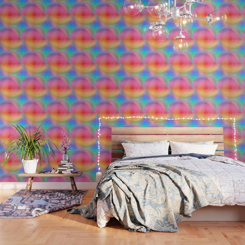 EDM Unicorn Pastel Techno Tie Dye Wallpaper by jlfotograffiti 1500x1500