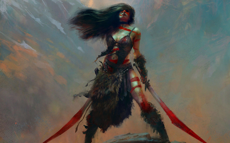 Woman Warrior Wallpaper - WallpaperSafari