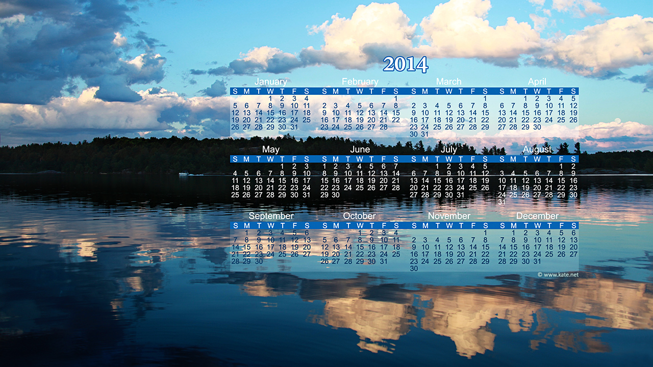 Full Year Calendar Wallpapers Yearly Calendar Backgrounds by Katenet 1280x720