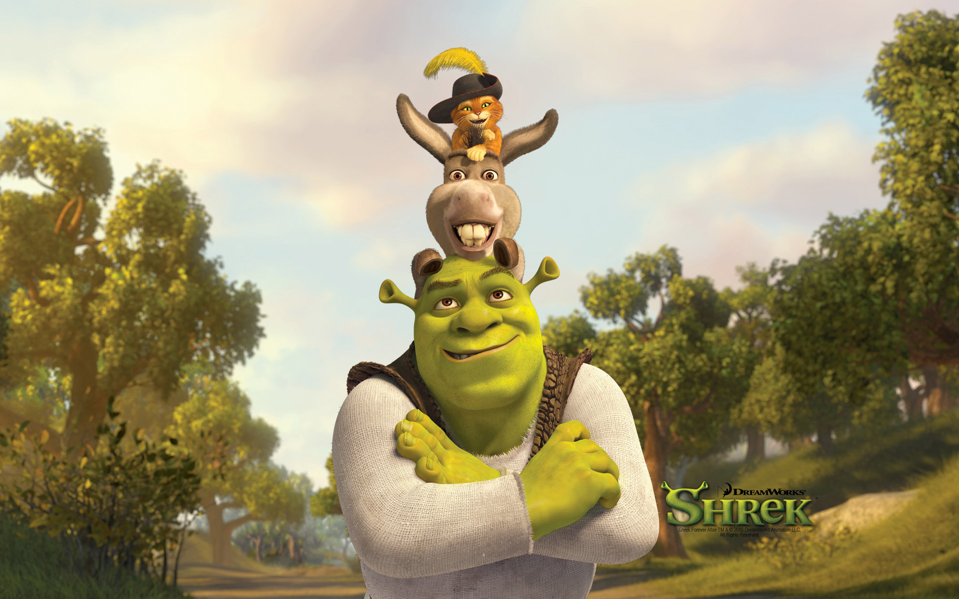 Shrek 4 Wallpaper Wallpapersafari