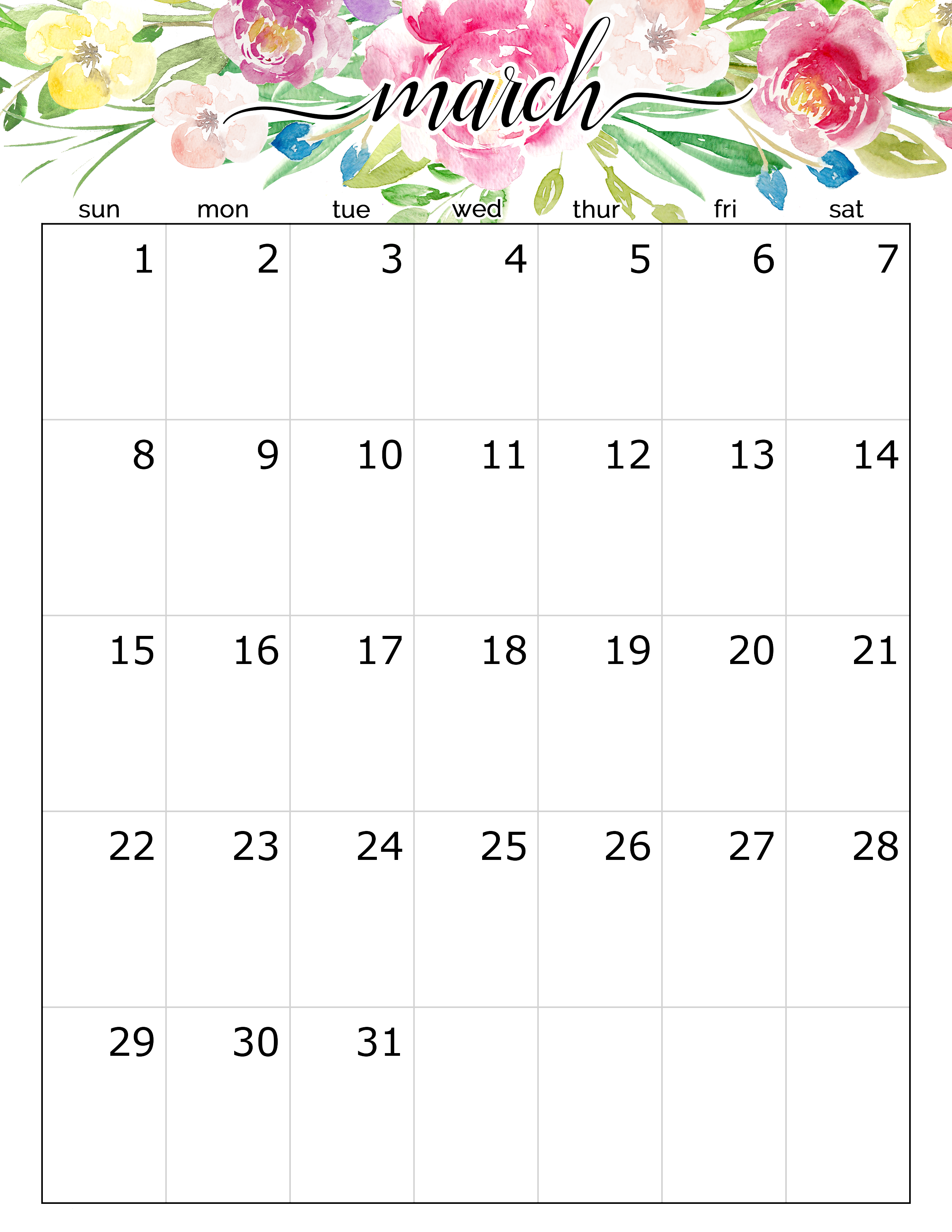 Cute March 2020 Calendar Archives   2019 Calendars for Students 2468x3195