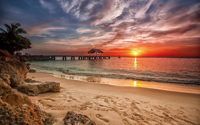 Summer Sunset   Hd Desktop Wallpaper 640x400