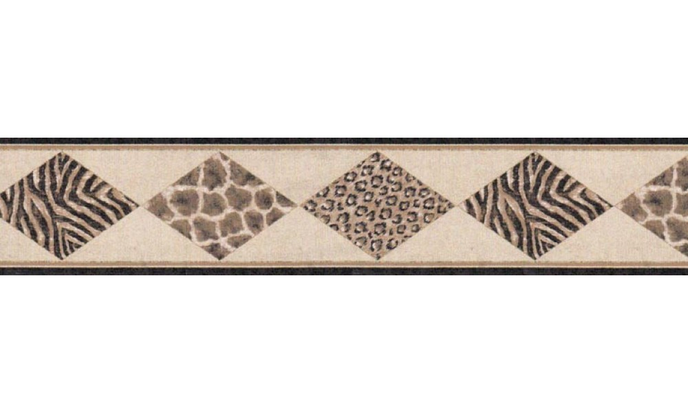 Home Animal Print Wallpaper Border B21516 1000x600
