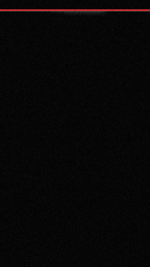 iPhone 5 Wallpaper Simple black red stripe 640x1136