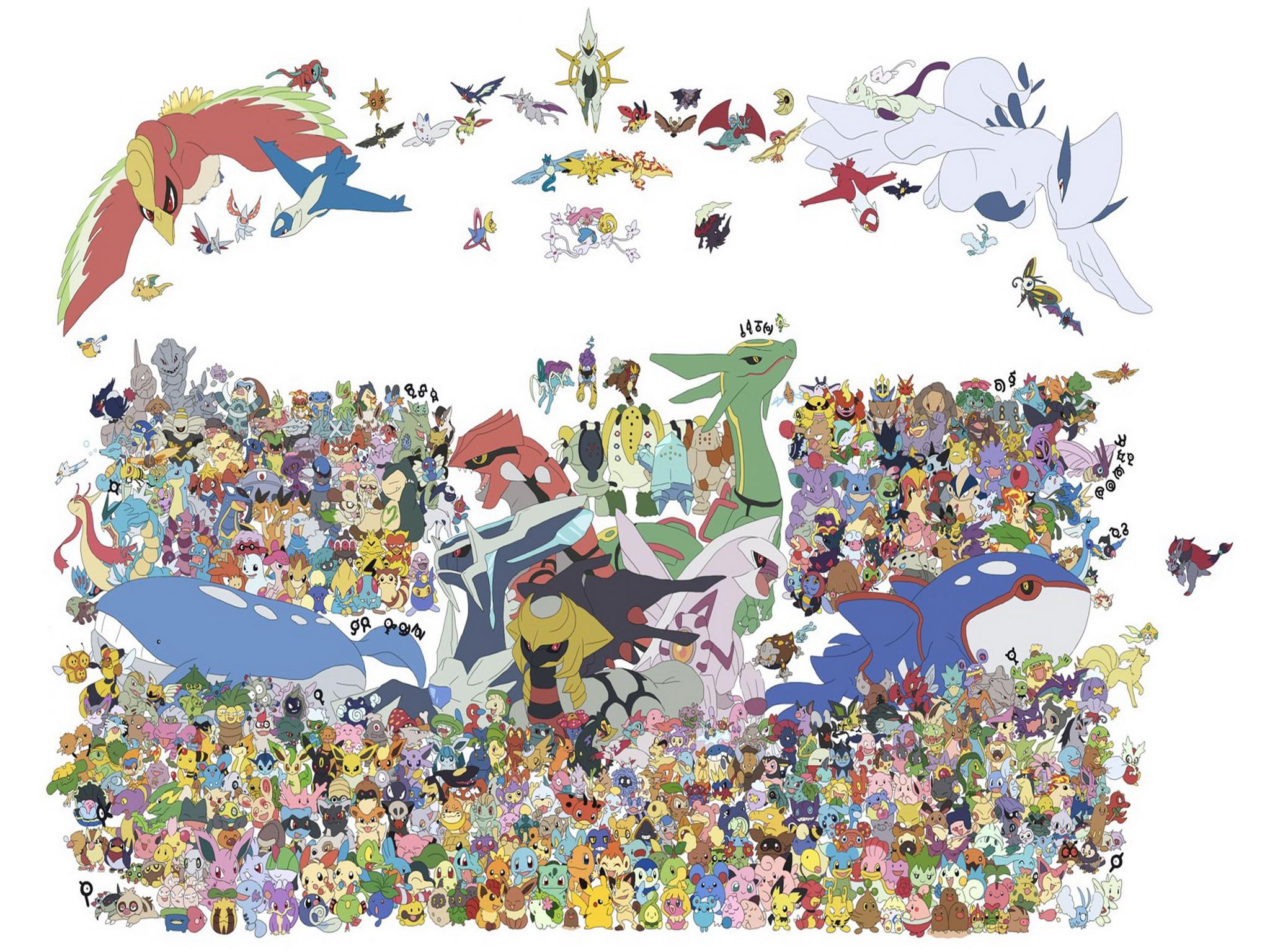 Pokemon iPad 3 Wallpapers 2048x1536