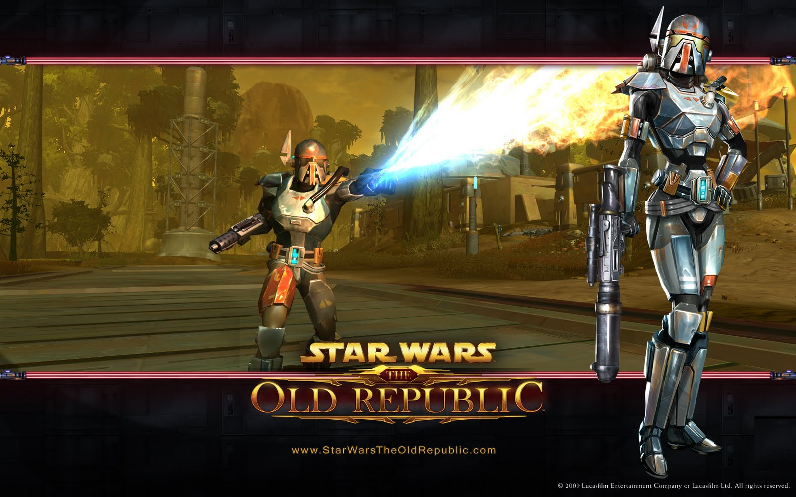 anticipated new MMPORPG Star Wars The Old Republic Wallpapers 1600x1000
