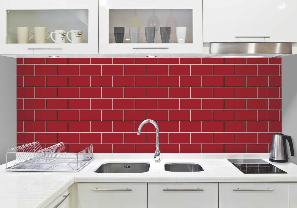 Kitchen Tiles On A Roll bathroom and kitchen wallpaper - modern 3d brick mosaic tile