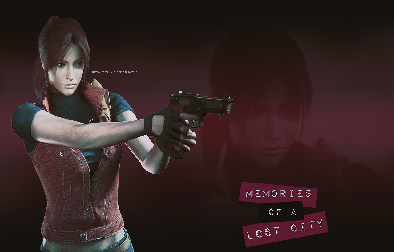 Claire Redfield Memories of a Lost City Wallpaper by 1280x820