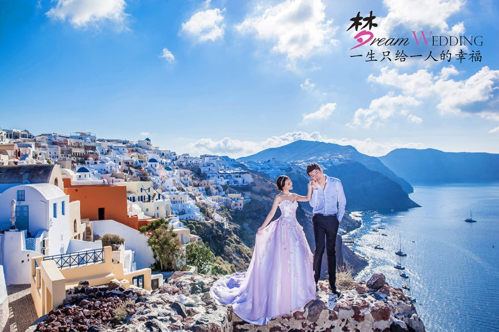 Greece   Santorini Pre Wedding Photoshoot   Dream Wedding 1024x682