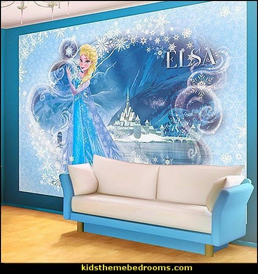 Frozen theme bedroom decor   Disney Frozen bedroom decorating ideas 504x535