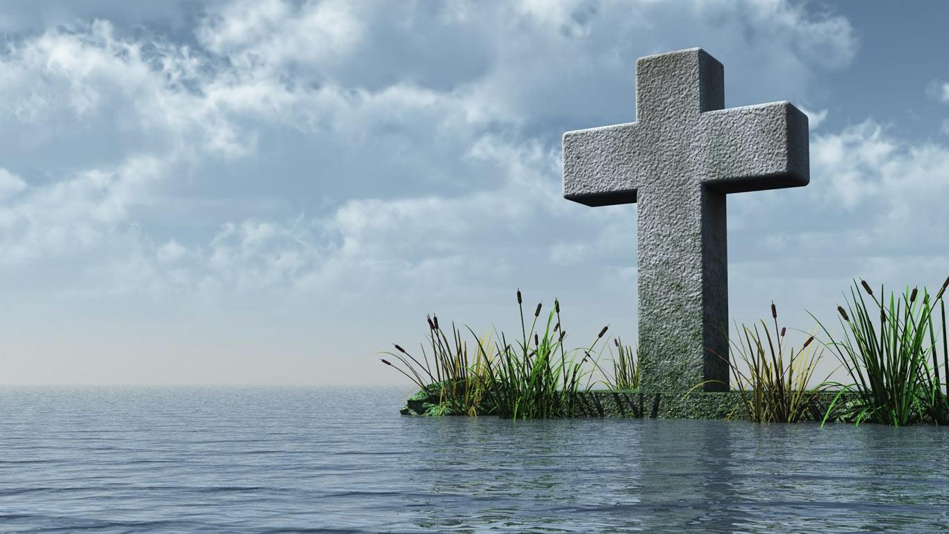 Jesus Cross Wallpaper 1366x768