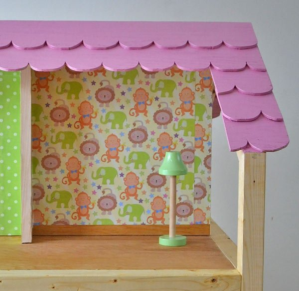 DIY Dollhouse Wallpaper