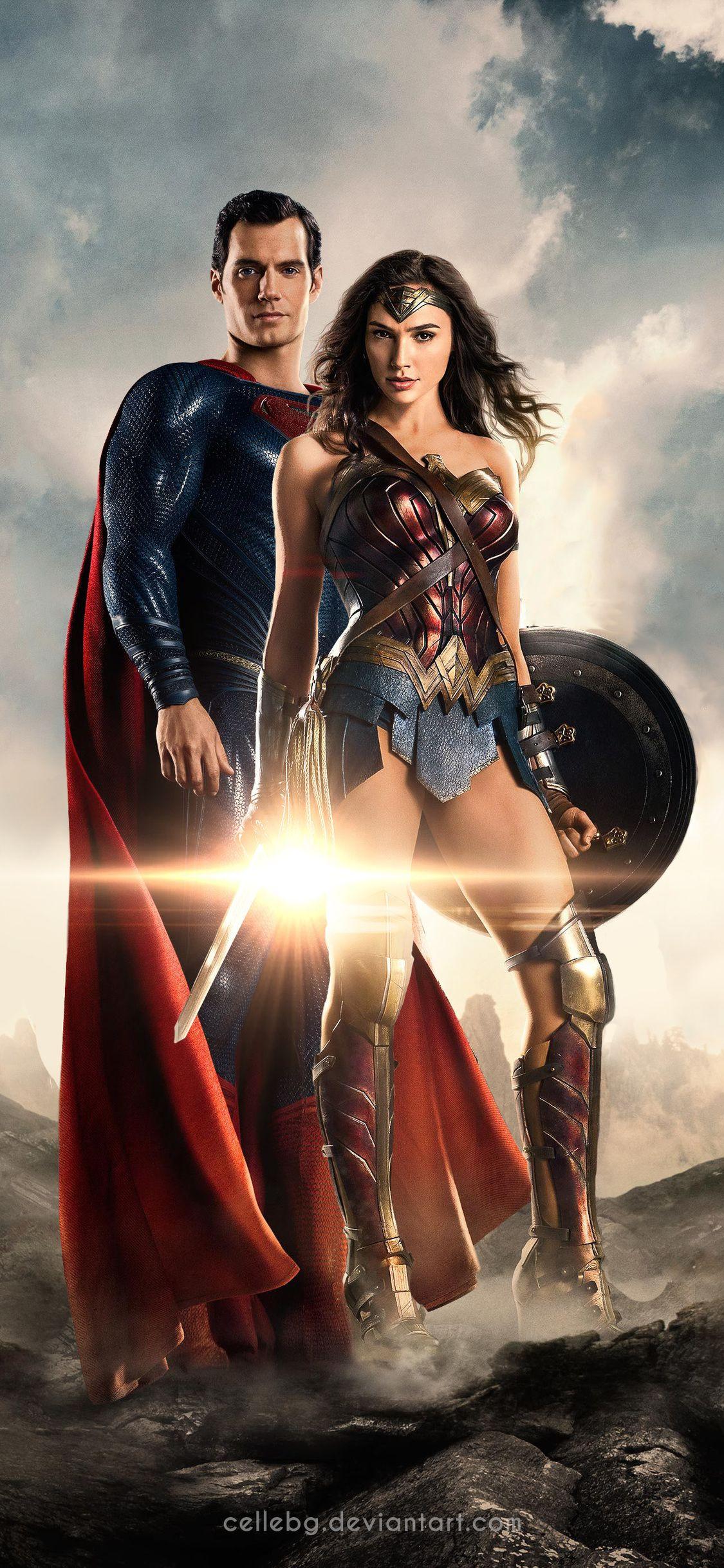 1125x2436 Justice League Superman Wonder Woman 4k Iphone XSIphone 1125x2436