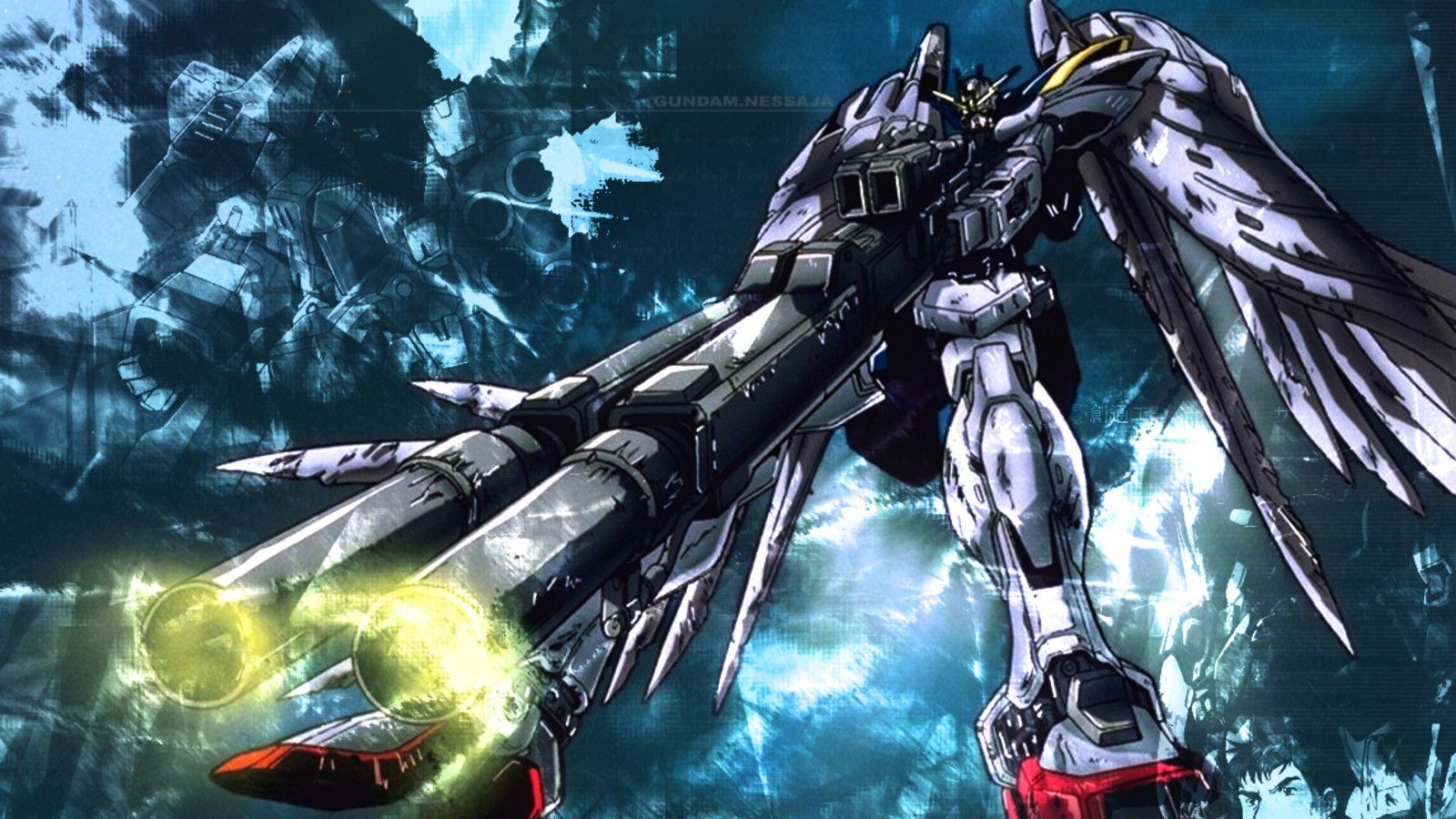 Best Gundam Wing Wallpaper HQ Backgrounds HD wallpapers Gallery 1600x900
