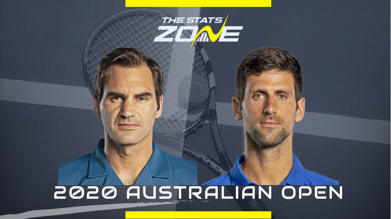 2020 Australian Open Roger Federer vs Novak Djokovic Preview 1600x900