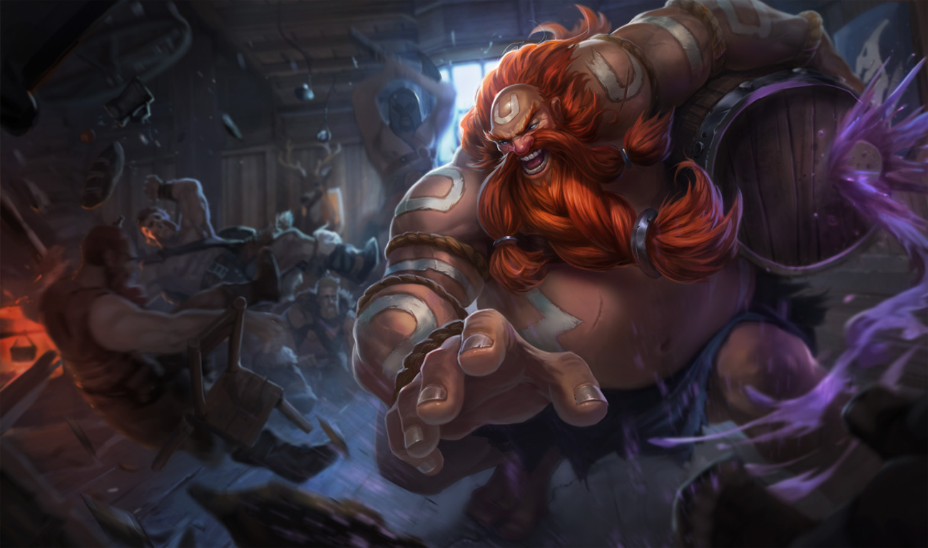 The New Gragas Wallpaper and Background Image 1301x768 ID 1301x768