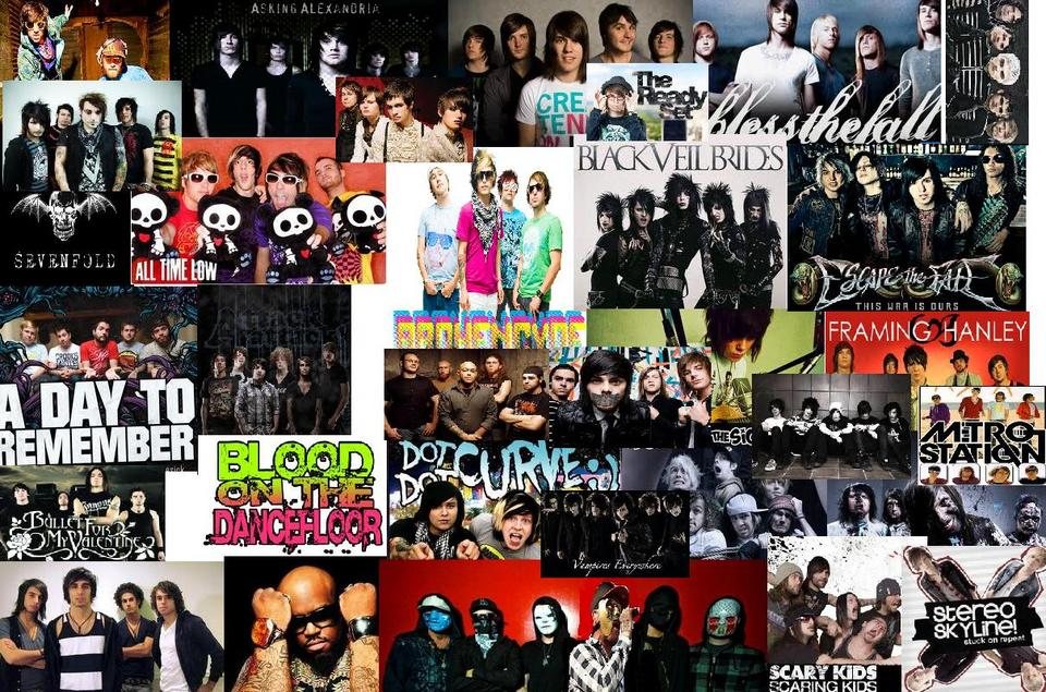 screamo bands wallpaper - photo #8