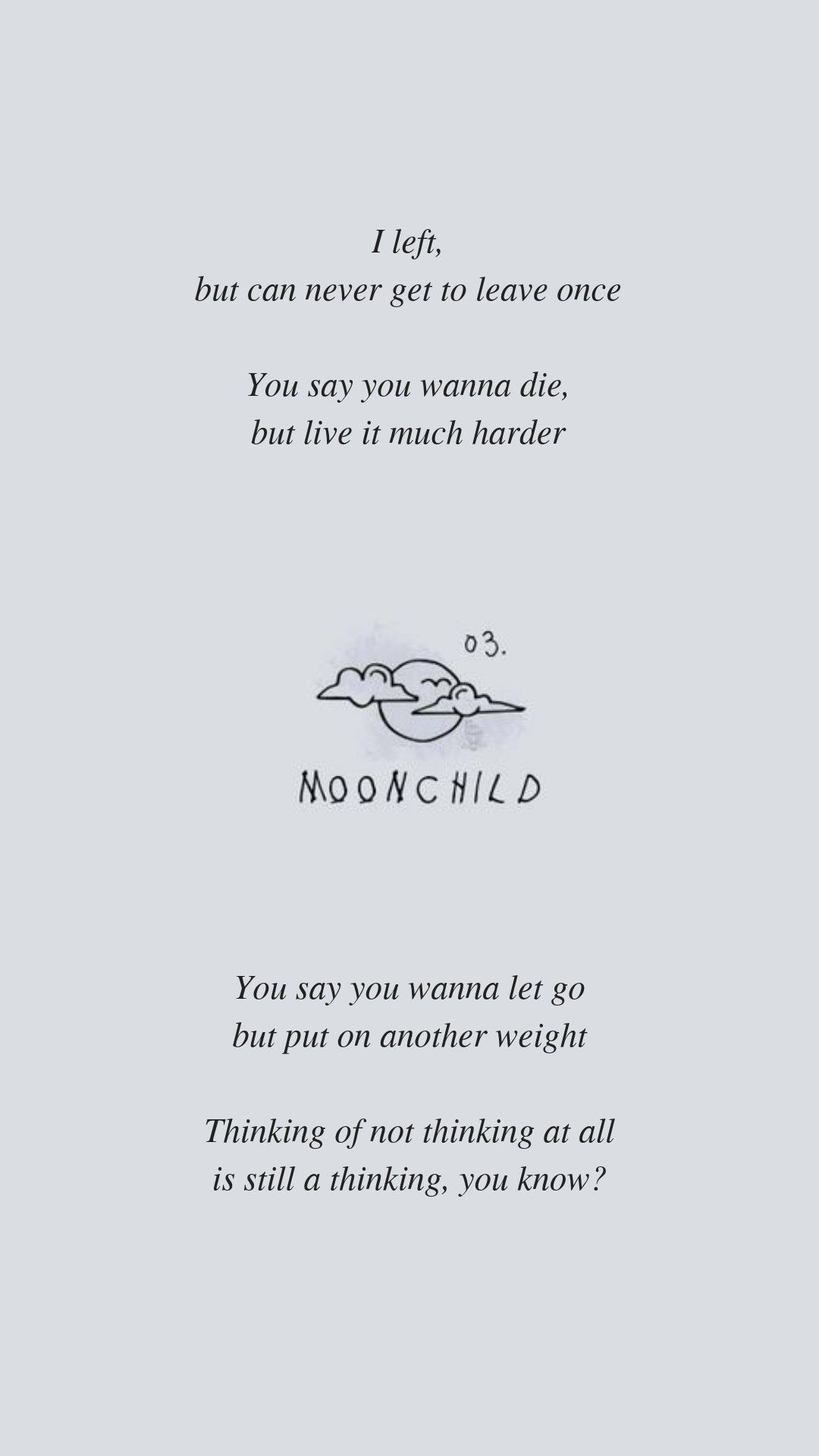 Free Download Moonchild By Bts Rm Lyrics Wallpaper Follow My