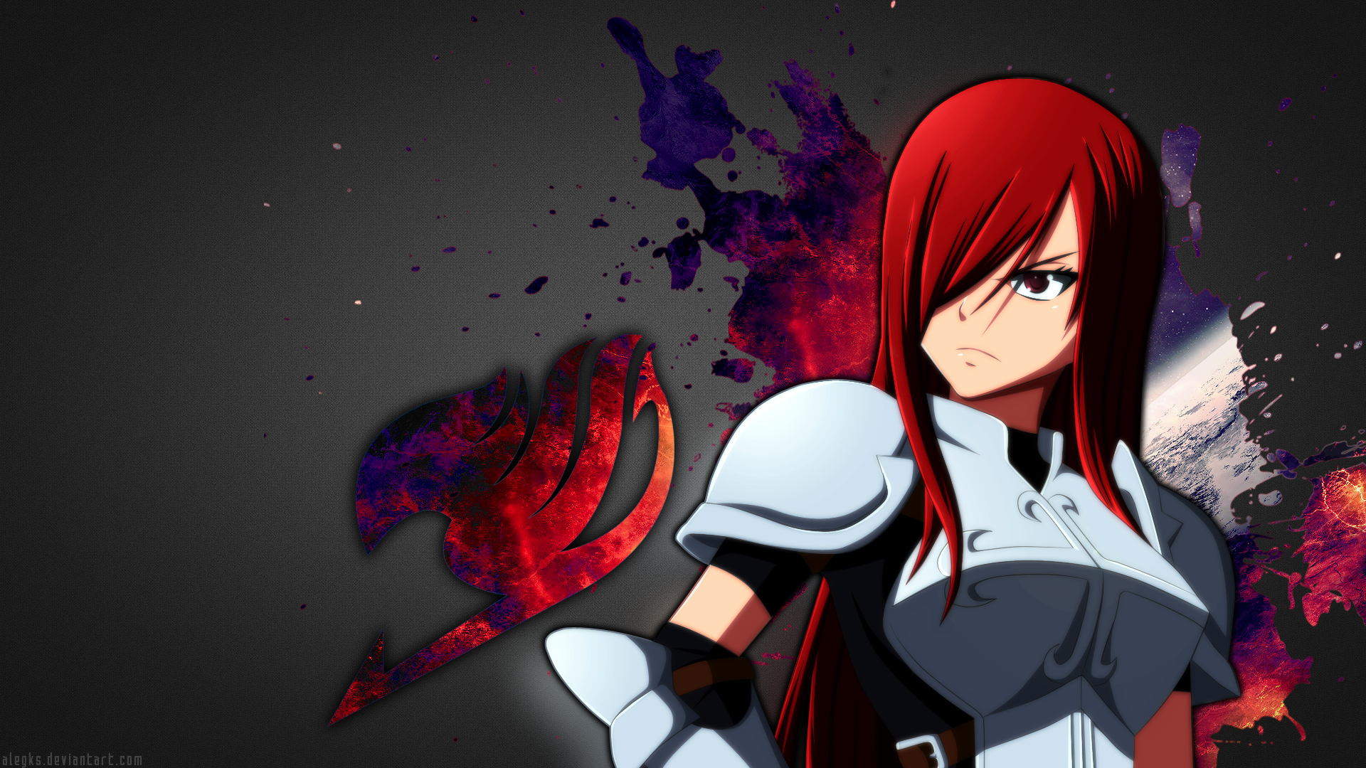 Free Download Erza Scarlet Fairy Tail Wallpaper By Alegks