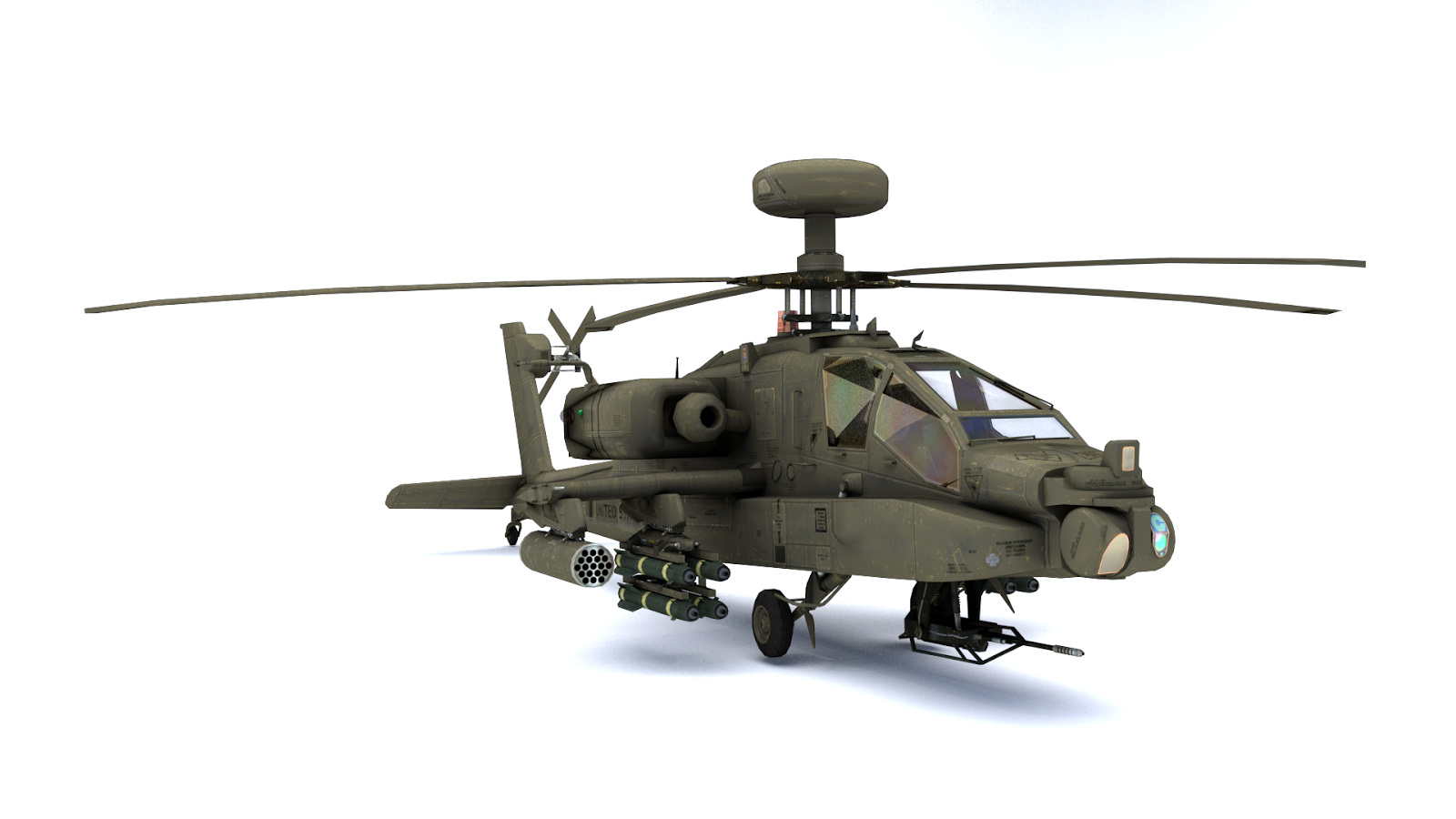 Apache Longbow Helicopter Wallpaper 3d modelus apache longbow 1600x900