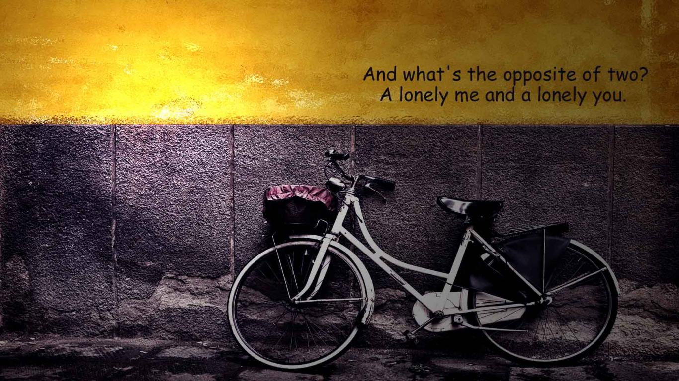 Free download Download HD Lonely Bike Love Quotes for