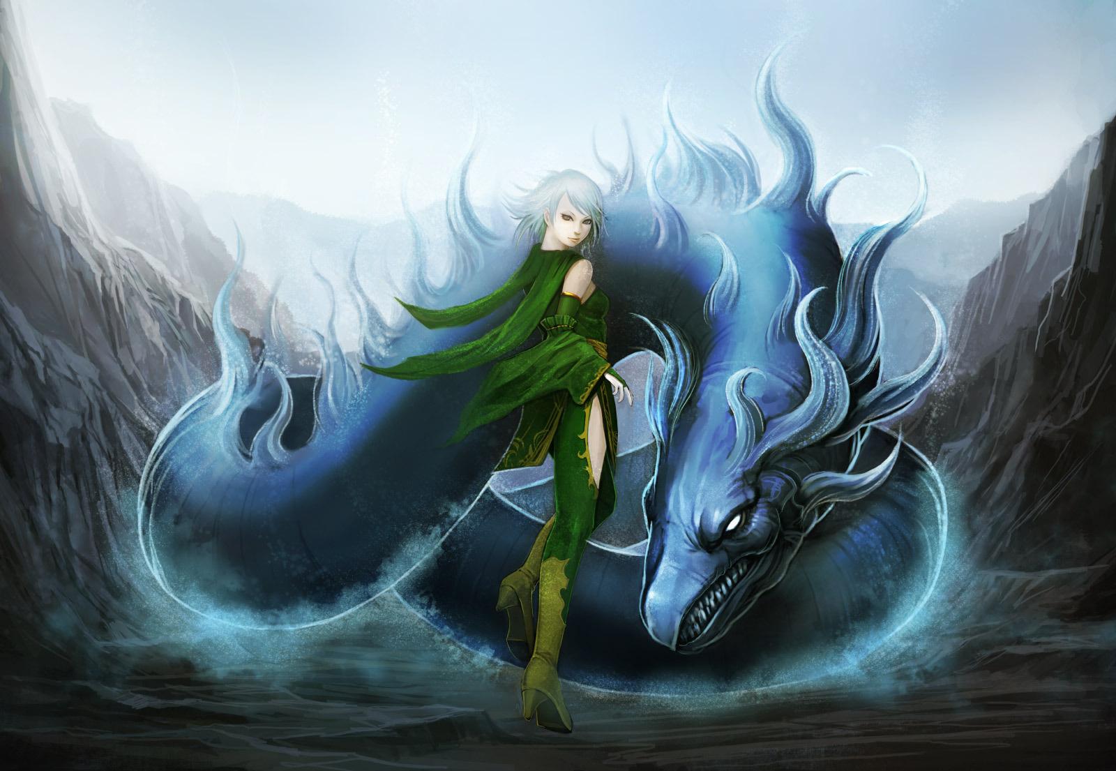 Moving dragon wallpapers for desktop wallpapersafari - Anime moving wallpaper for pc ...
