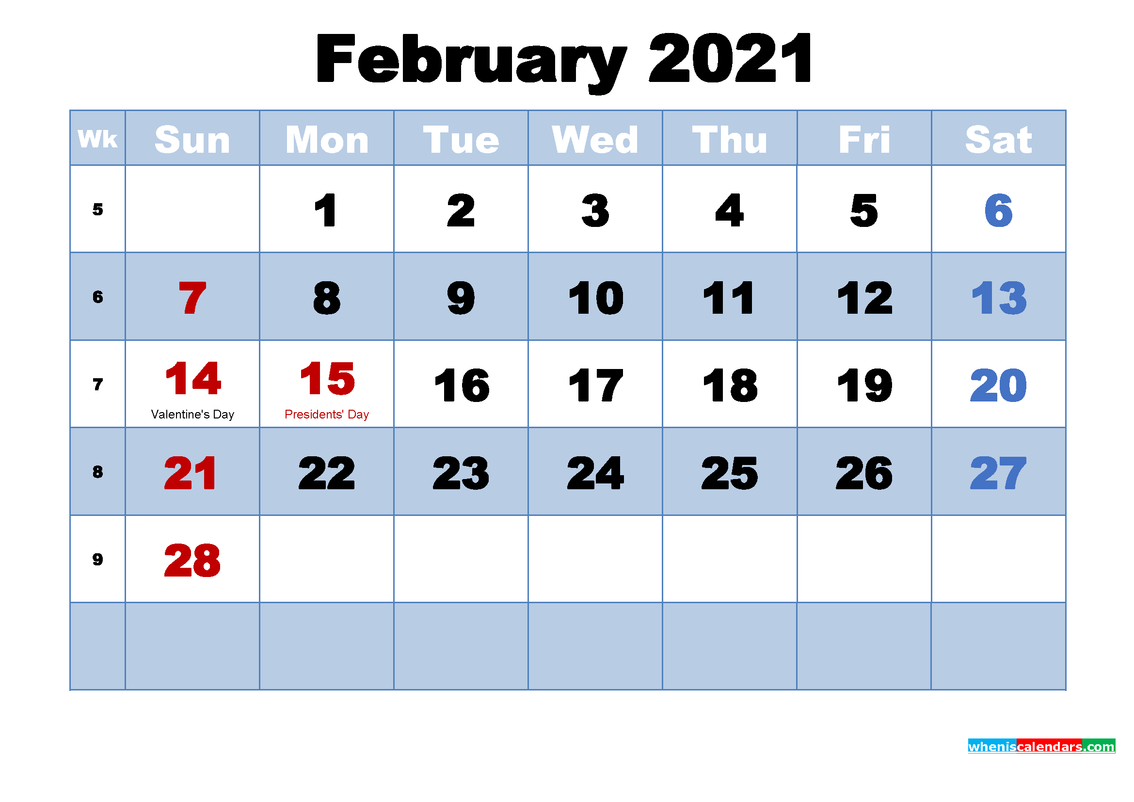 February 2021 Calendar Wallpapers   Top February 2021