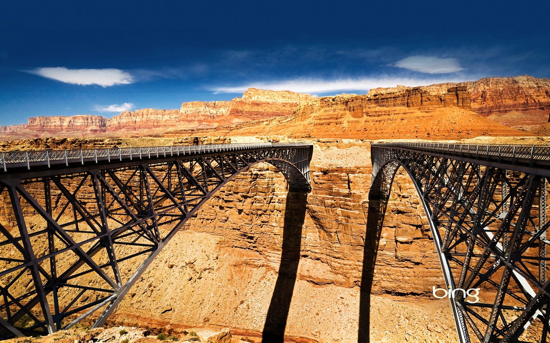 Navajo Bridge Over Colorado River Wallpapers HD Wallpapers 1920x1200