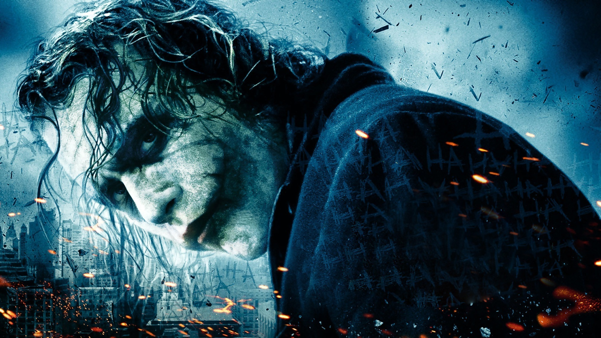 Heath Ledger As Joker HD Wallpaper   Stylish HD Wallpapers 1920x1080