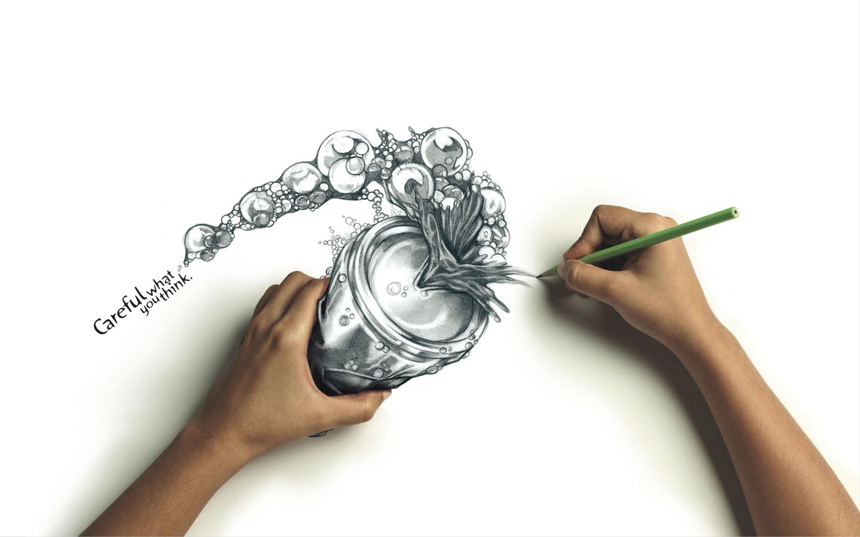 Sfondo disegnare con le mani HD SoloSfondicom 1440x900