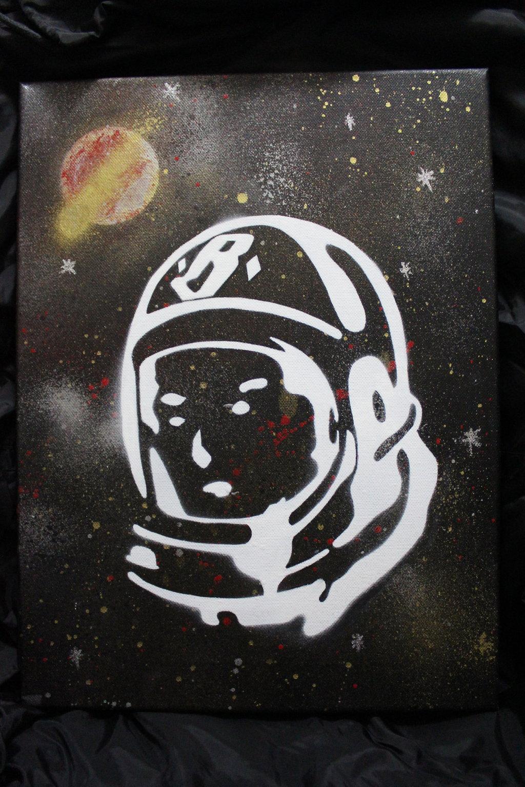 billionaire boys club astronaut logo - photo #33