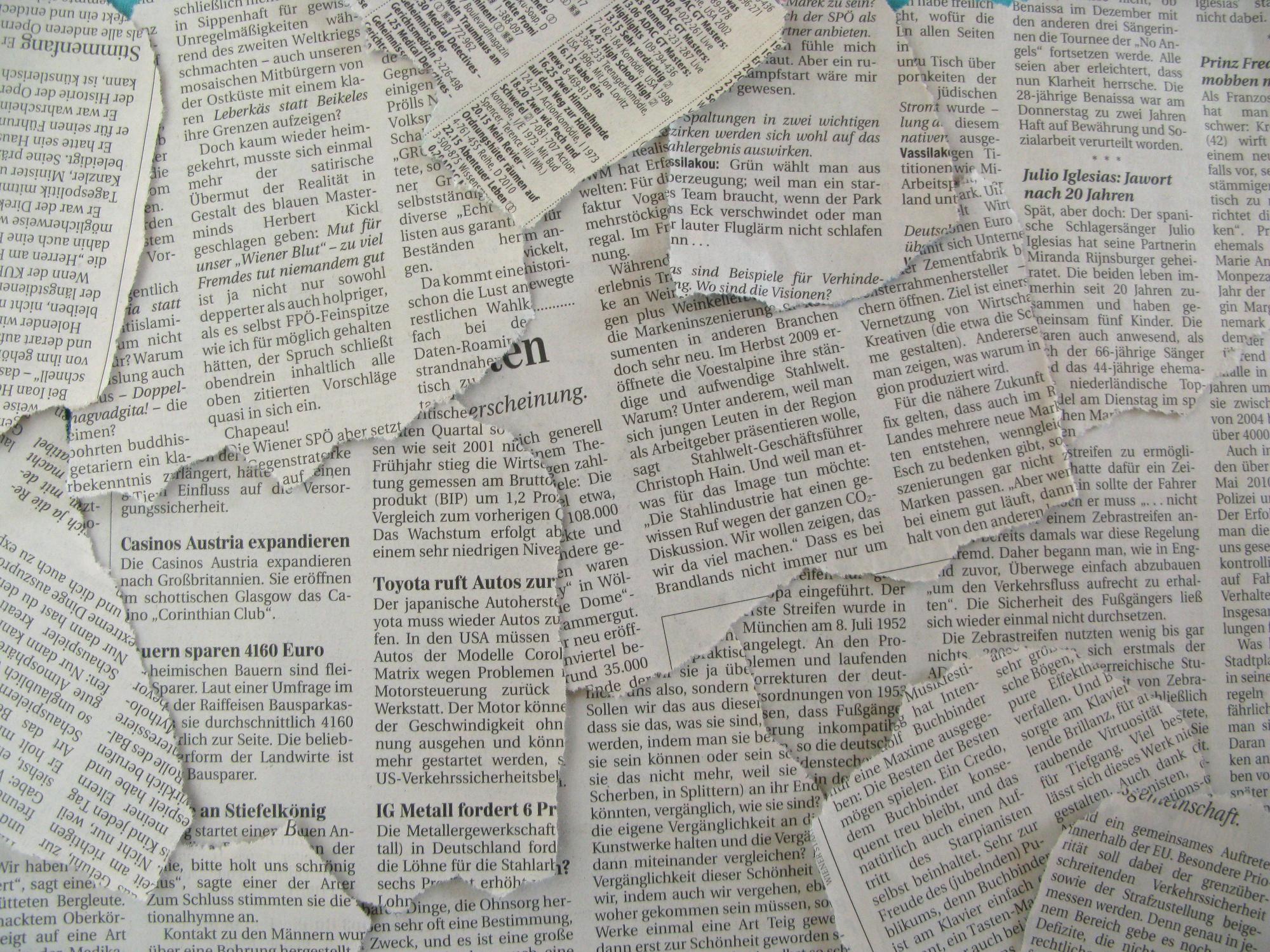 Texture Sbiadite di Giornale 2000x1500