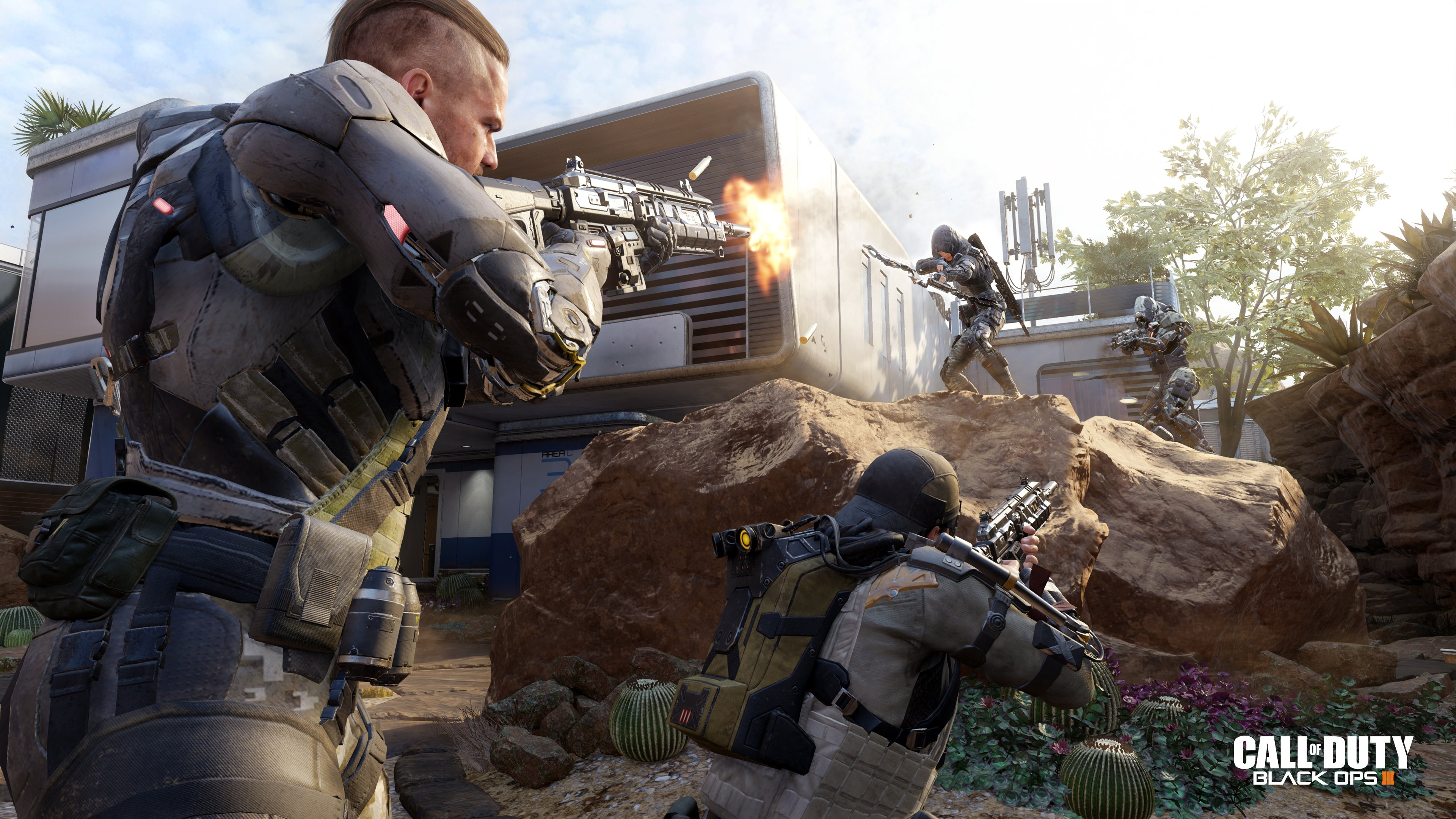 Call of Duty Black Ops III 2015 HD Wallpapers 4K Wallpapers 3840x2160