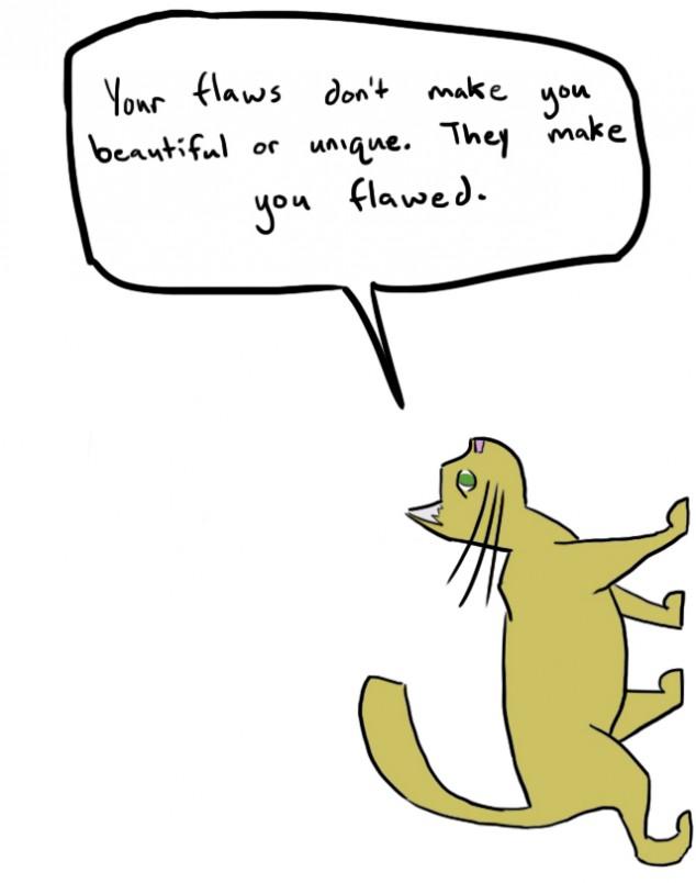 Cute Cat Draw Eyes Funny