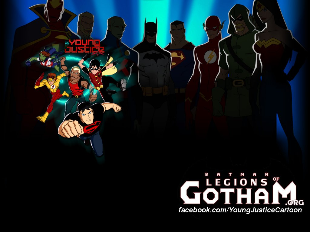 Young Justice Cartoon Downloads Wallpaper   Young Justice Cartoon 1024x768
